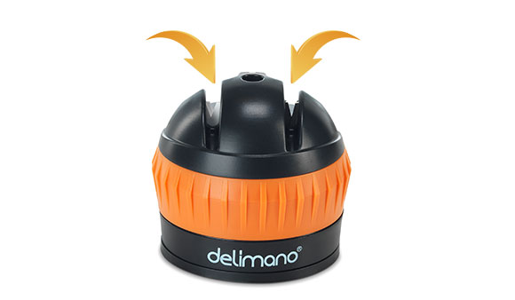 Delimano Brava Extreme Sharpener 2in1